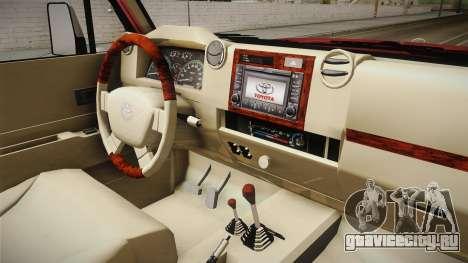 Toyota Land Cruiser J71 2016 для GTA San Andreas вид изнутри