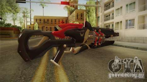 Overwatch 9 - Widowmakers Rifle v2 для GTA San Andreas второй скриншот