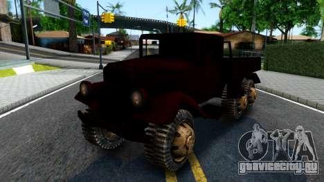 Broken Military Truck для GTA San Andreas