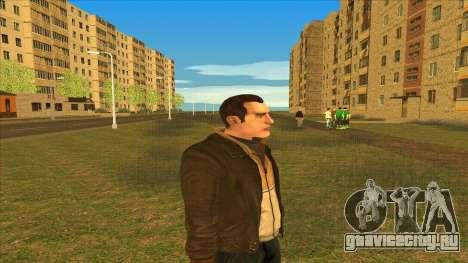 Чисто выбритый Нико для GTA San Andreas второй скриншот