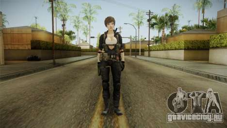 Sudden Attack 2 - Female Blue Reskinned для GTA San Andreas второй скриншот