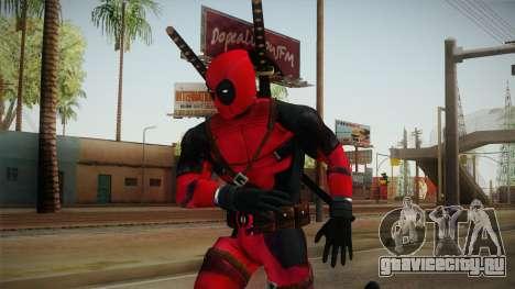 Deadpool The Movie Reskinned для GTA San Andreas