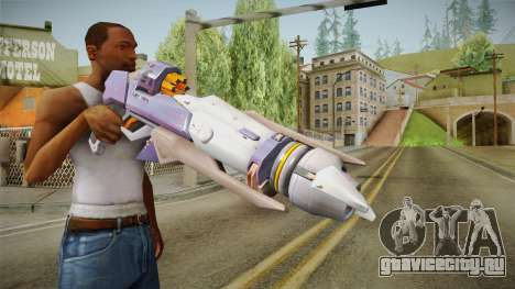 Overwatch 9 - Pharahs Rocket Launcher для GTA San Andreas