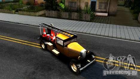 Bolt Utility Truck From Mafia для GTA San Andreas вид справа