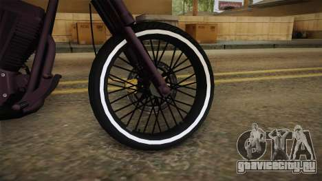GTA 5 Western Daemon для GTA San Andreas вид сзади