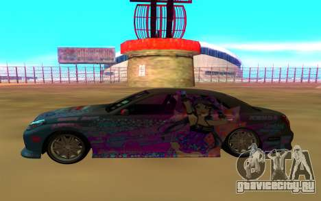 Toyota CROWN MAJESTA для GTA San Andreas вид сзади слева