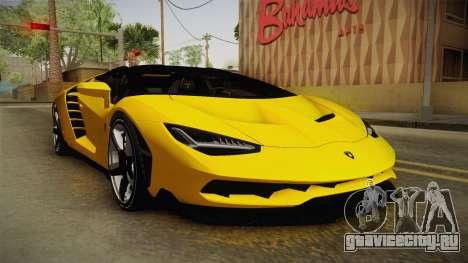 Lamborghini Centenario Roadster для GTA San Andreas