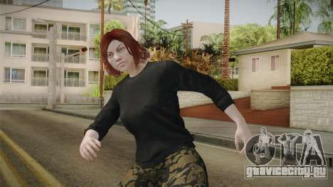 GTA Online: Skin Female 2 для GTA San Andreas