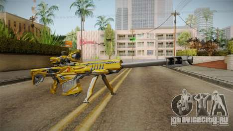 Cross Fire - M82A1 Iron Shark Noble Gold для GTA San Andreas