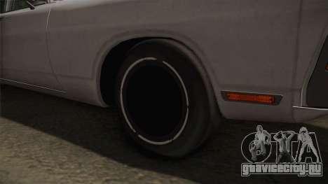 Dodge Polara 1971 Factory Wheel для GTA San Andreas вид сзади