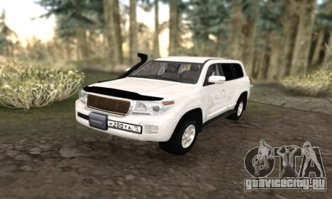 Toyota Land Cruiser 205 для GTA San Andreas