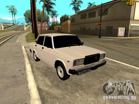VAZ 2107 Armenian для GTA San Andreas