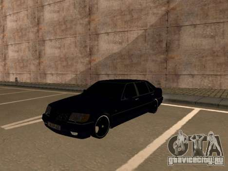 Mercedes-Benz W140 Armenian для GTA San Andreas