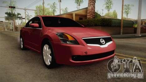 Nissan Altima 2009 Standard для GTA San Andreas