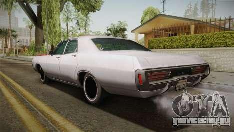 Dodge Polara 1971 Factory Wheel для GTA San Andreas вид слева