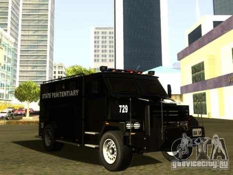 International 4000 Police Special для GTA San Andreas вид справа