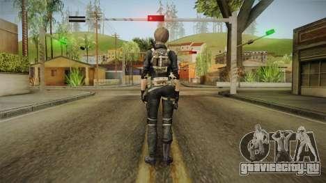 Sudden Attack 2 - Female Blue Reskinned для GTA San Andreas третий скриншот