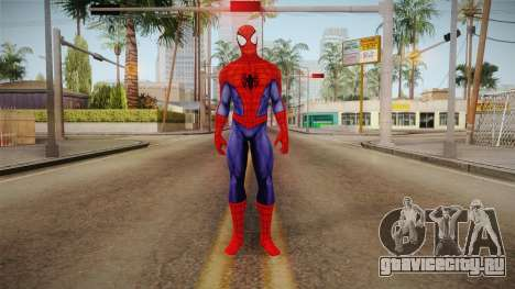 Marvel Heroes - Spider-Man Visual Update для GTA San Andreas второй скриншот