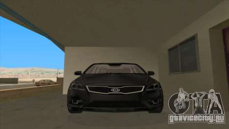 KIA Ceed 1.4 CVVT 2009 для GTA San Andreas вид сзади слева