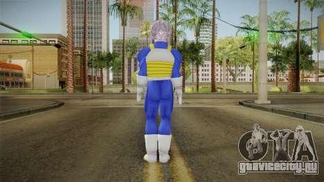 DBX - Trunks SJV2 Saiyan Armor для GTA San Andreas третий скриншот