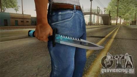 M9 Bayonet BlueSparks для GTA San Andreas