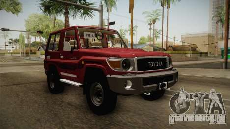 Toyota Land Cruiser J71 2016 для GTA San Andreas