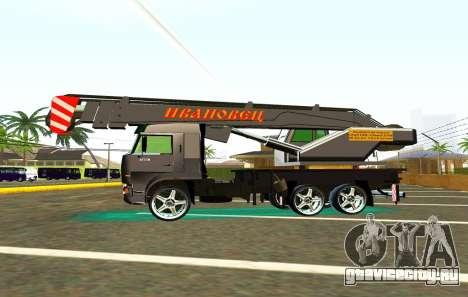 КамАЗ 65117 Ивоновец для GTA San Andreas вид снизу