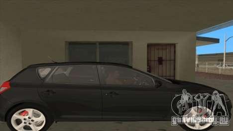 KIA Ceed 1.4 CVVT 2009 для GTA San Andreas вид справа
