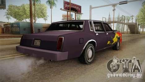 Tahoma Remington PJ3 для GTA San Andreas вид слева