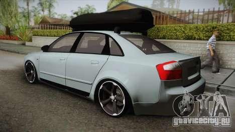 Audi S4 B6 для GTA San Andreas вид слева
