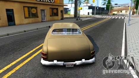Hermes Restyle для GTA San Andreas вид сзади слева