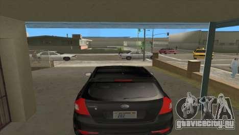 KIA Ceed 1.4 CVVT 2009 для GTA San Andreas вид сзади
