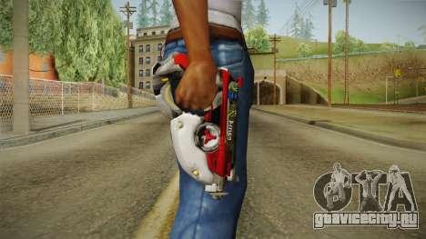 Overwatch 9 - Tracers Pulse Gun v1 для GTA San Andreas третий скриншот
