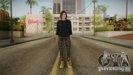 GTA Online: Skin Female 2 для GTA San Andreas второй скриншот
