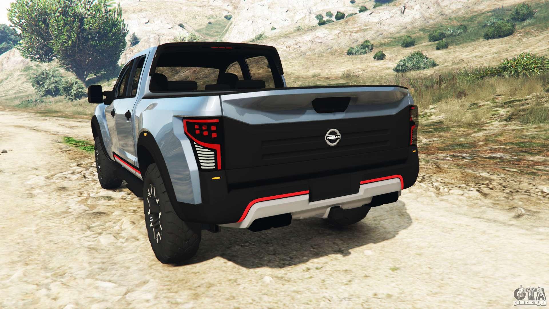 Nissan Titan Warrior Concept 2016 для GTA 5