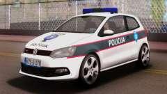 Volkswagen Polo GTI BIH Police Car для GTA San Andreas