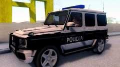 Мерседес-Benz G65 AMG в Биг полицейский автомоби