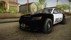 GTA 5 Cheval Fugitive Police