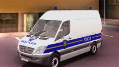 Mercedes-Benz Sprinter Croatian Police Van для GTA San Andreas