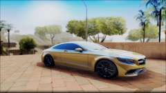 Mercedes-Benz S63 Coupe GOLD