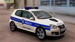 Гольф V Хорватский Полицейский Автомобиль