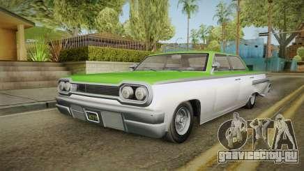 GTA 5 Declasse Voodoo 4-door IVF для GTA San Andreas
