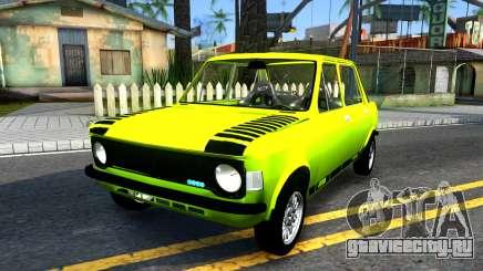 Fiat 128 жёлтый для GTA San Andreas