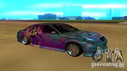 Toyota CROWN MAJESTA для GTA San Andreas