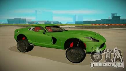 Dodge Viper GTS Off Road для GTA San Andreas
