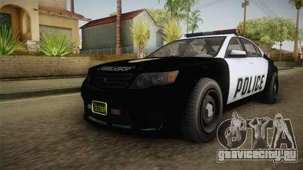 GTA 5 Cheval Fugitive Police для GTA San Andreas