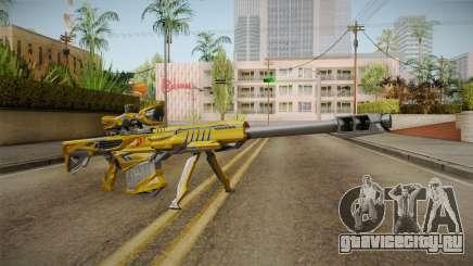 Cross Fire - M82A1 Iron Shark Noble Gold для GTA San Andreas