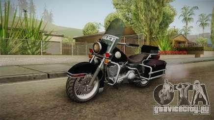 GTA 5 Police Bike SA Style для GTA San Andreas
