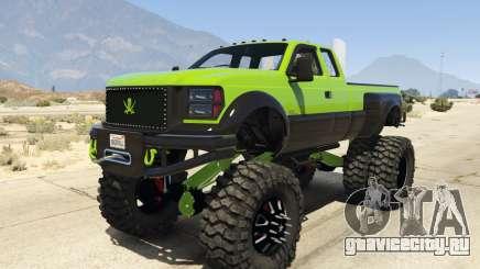 Sandking HD Monster Dually для GTA 5
