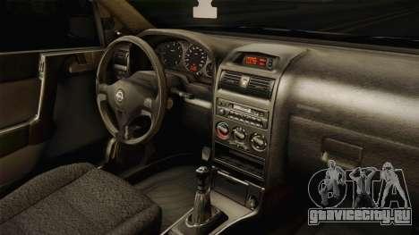 Opel Astra G 1999 для GTA San Andreas вид сбоку